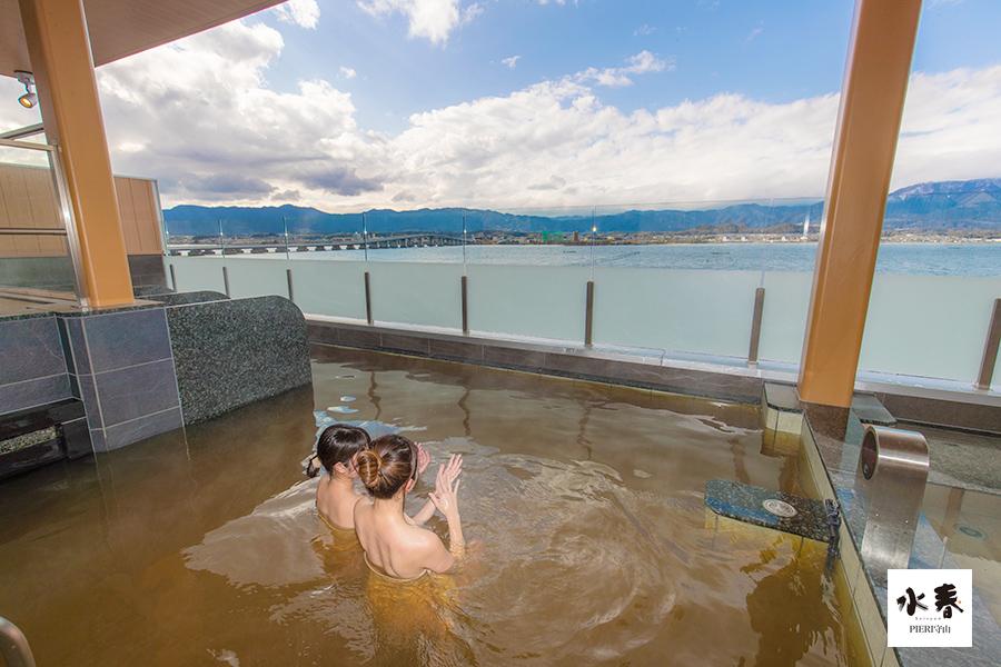 水春で初風呂