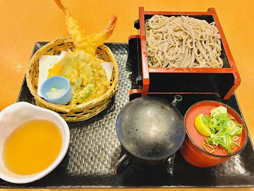 天ぷら十割そば